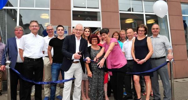 WOGE Saar eröffnet neues Kundenzentrum