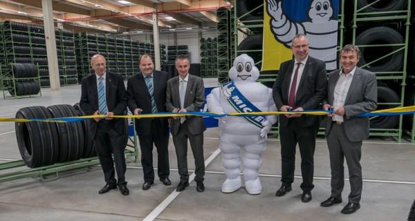 """Neues Logistikzentrum für Michelin-Reifen im Industriegebiet """"Am Zunderbaum"""""""